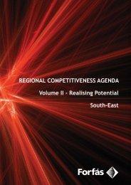 Forfás Regional Competitiveness Agenda - South-East