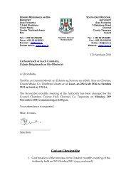 údarás réigiúnach an oir-dheiscirt - South-East Regional Authority