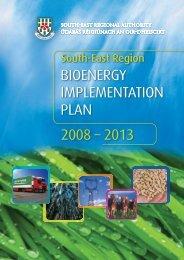 Bioenergy Implementation Plan - South-East Regional Authority