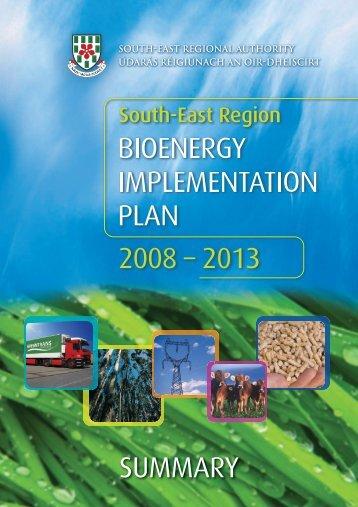 Bio Energy Summary - South-East Regional Authority