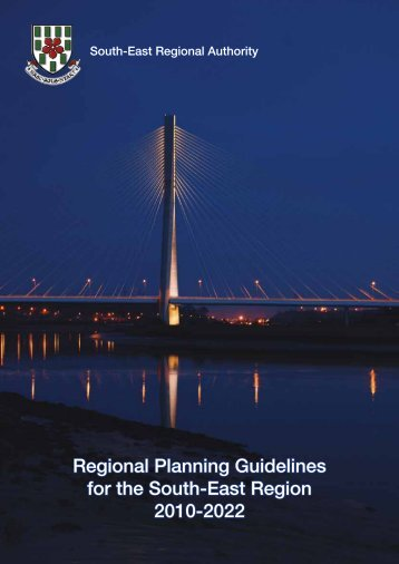 Regional Planning Guidelines - South-East Regional Authority