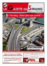 La Gazette du mois de mai - Seraing