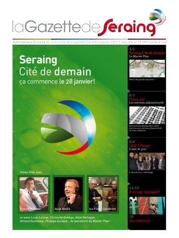 La Gazette de Janvier - Seraing