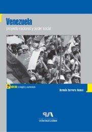 Venezuela. Proyecto nacional y poder social - Universidad de Los ...