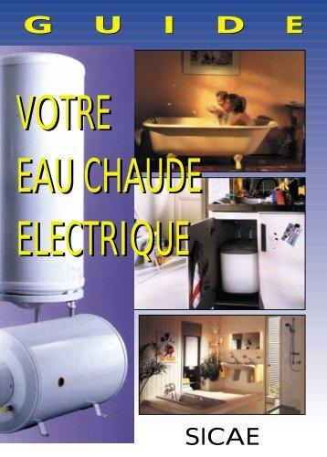 VOTRE EAU CHAUDE ELECTRIQUE - SERC