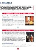 VOTRE EAU CHAUDE ELECTRIQUE - SERC - Page 7