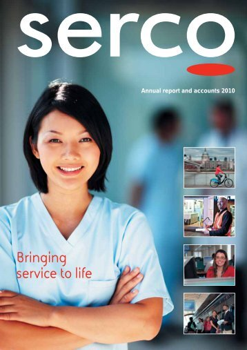 Annual report and accounts 2010 - Serco