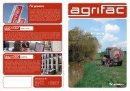 Brochure Agrifac Python
