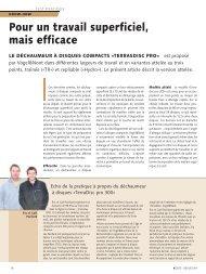 Test pratique V&N Terradisc pro (pdf / 243 KB)