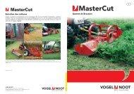 Brochure Broyeur MasterCut (pdf / 2162 KB)