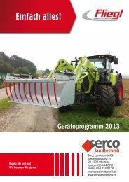 Geräteprogramm Fliegl 2013 (pdf / 8886 KB)