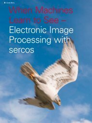 When Machines Learn to See – Electronic Image ... - sercos