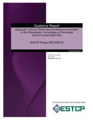 Guidance Document - Strategic Environmental Research and ...