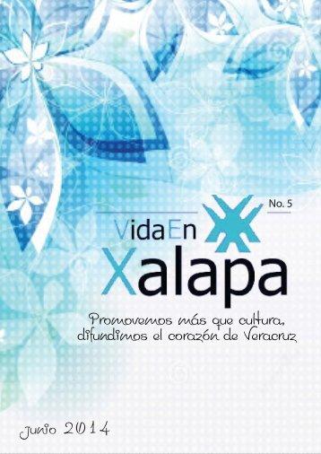 Revista Cultural Vida En Xalapa Edición Nº 5 Julio 2014