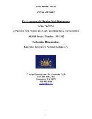 Environmentally Benign Stab Detonators - Defense Technical ...