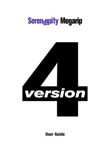 Version 4.1 - Serendipity Software