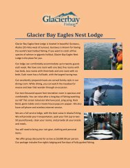 Glacier Bay Eagles Nest Lodge