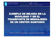 Ejemplo de mejora en la movilidad y en el transporte de ... - Serglo
