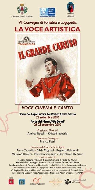 Voce Cinema E Canto Cantare Lopera
