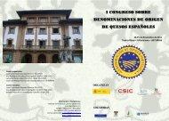 Programa del I Congreso sobre Denominaciones de Origen de ...