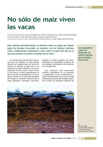 no solo de maiz viven vacas.pdf - RIA