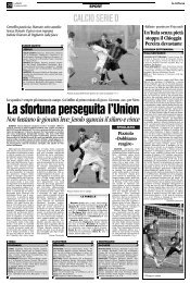 25/02/2008 Campionato 25a Giornata: Girone C - serie d news