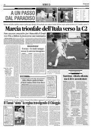07/04/2008 Campionato 30a Giornata: Girone C - serie d news