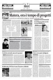 26/05/2008 Play Out - gare di ritorno - serie d news