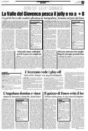 26/02/2007 Campionato 24a Giornata: Girone F - serie d news