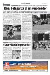 10/09/2007 Campionato 2a Giornata: Girone B - serie d news