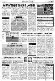 26/02/2007 Campionato 24a Giornata: Girone E - serie d news