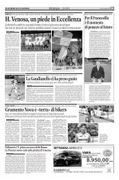 19/05/2008 Play Out - partite di andata - Gironi H - serie d news