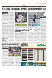25/02/2008 Campionato 25a Giornata: Girone I - serie d news