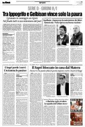 28/01/2008 Campionato 22a Giornata: Girone H - serie d news