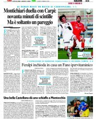 18/02/2008 Campionato 24a Giornata - serie d news