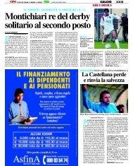 28/04/2008 Campionato 33a Giornata - serie d news