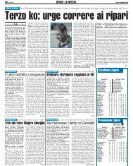 02/11/2006 Campionato 8a Giornata: Girone E - serie d news