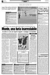 10/03/2008 Campionato 27a Giornata: Girone C - serie d news