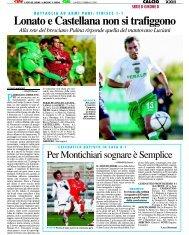 25/02/2008 Campionato 25a Giornata - serie d news