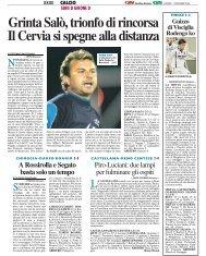 11/12/2006 Campionato 14a Giornata - serie d news