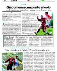 03/12/2007 Campionato 15a Giornata - serie d news