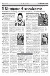 29/10/2007 Campionato 9a Giornata: Girone H - serie d news