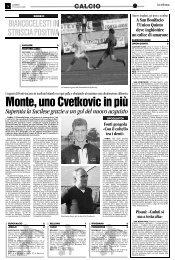 27/11/2006 Campionato 12a Giornata: Girone C - serie d news