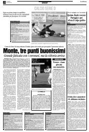 14/04/2008 Campionato 31a Giornata: Girone C - serie d news
