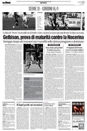 15/10/2007 Campionato 7a Giornata: Girone H - serie d news