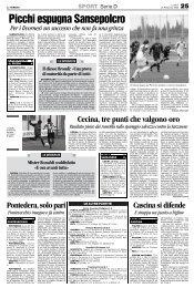 25/02/2008 Campionato 25a Giornata: Girone E - serie d news