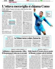 21/01/2008 Campionato 21a Giornata: Girone B - serie d news