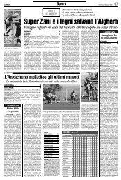 16/03/2008 Campionato 28a Giornata: Girone G - serie d news