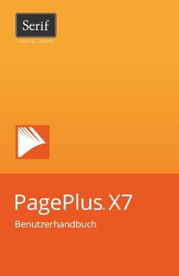 PagePlus X7 Benutzerhandbuch - Serif
