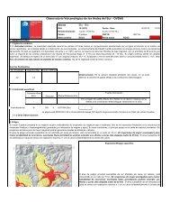 Reporte especial de actividad volcanica - Sernageomin